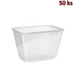 Vanička na jídlo průhledná 2000 ml PP [50 ks]