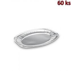 Hliníkový podnos oválný 44,5 x 29,5 cm [60 ks]