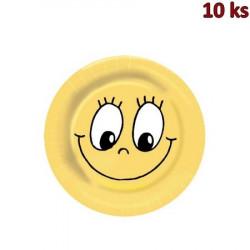 Papírové talíře Ø 23 cm SMILING FACE