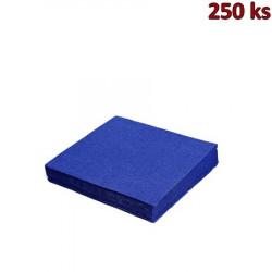 Papírové ubrousky tmavě modré 2-vrstvé, 33 x 33 cm [250 ks]