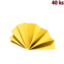 Ubrousky DekoStar 40 x 40 cm žluté [40 ks]
