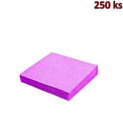 Papírové ubrousky 3-vrstvé, 40 x 40 cm světle fialové [250 ks]