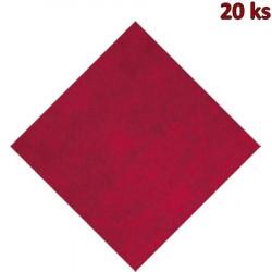 Napron PREMIUM 80 x 80 cm bordový