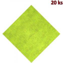 Napron PREMIUM 80 x 80 cm žlutozelený