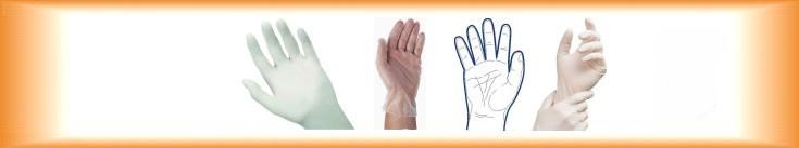 Igelitové rukavice