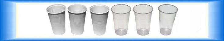 Plastové kelímky