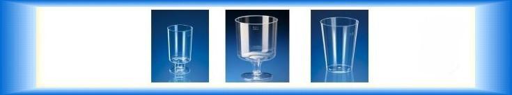 Plastové kelímky na víno