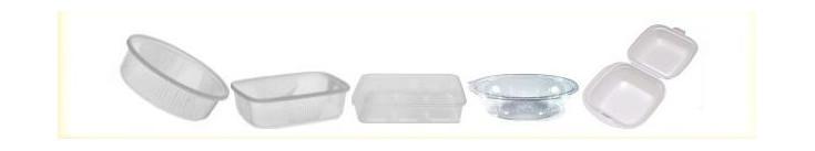 Gastro obaly plastové