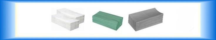 Papírové ručníky ZZ 2-vrstvé